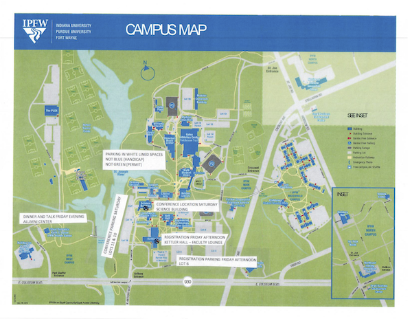 Midwestern Campus Map.Mighty Lx At Purdue University Fort Wayne September 28 29 2018
